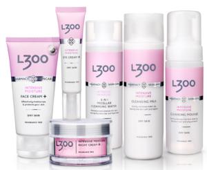 уход за сухой и чувствительной кожей l300