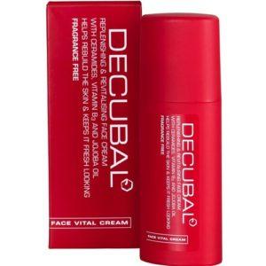 Decubal Face Vital Cream восстанавливающий крем для чувствительной кожи