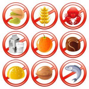 пищевые виды аллергии