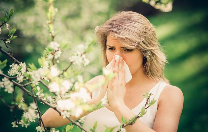 сезонные виды аллергии
