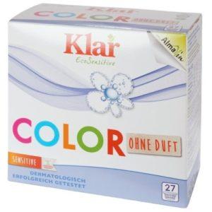 Органический универсальный стиральный порошок для цветных тканей